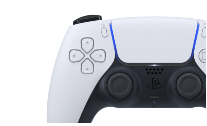 PS5コントローラー 正面