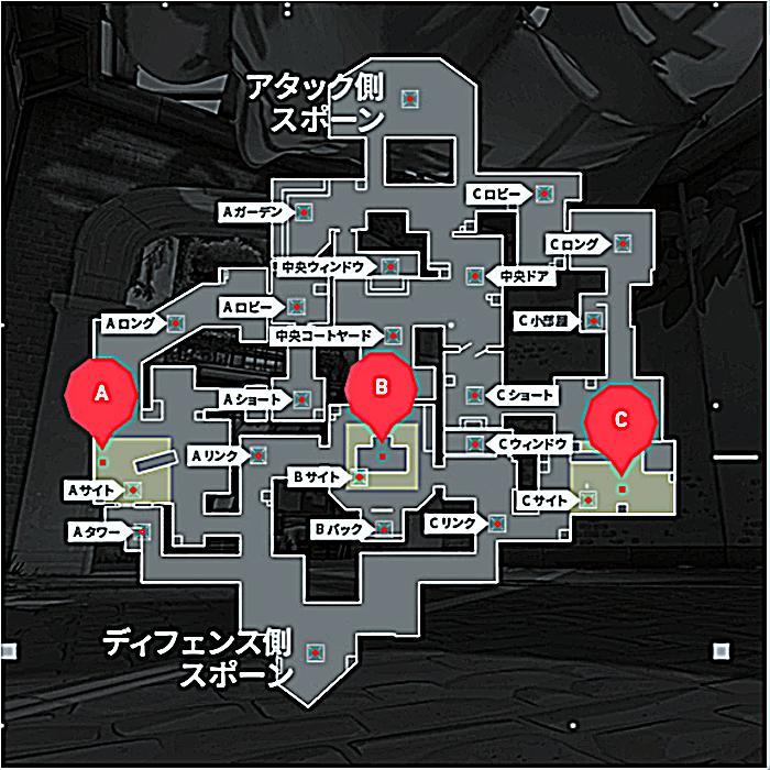 ヴァロラント ヘイブン マップ