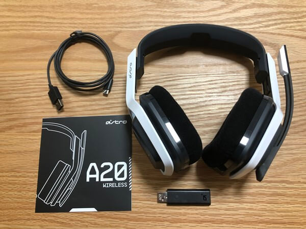 ASTRO A20 付属品